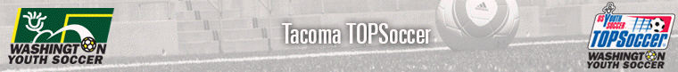 TOPSoccer Tacoma banner